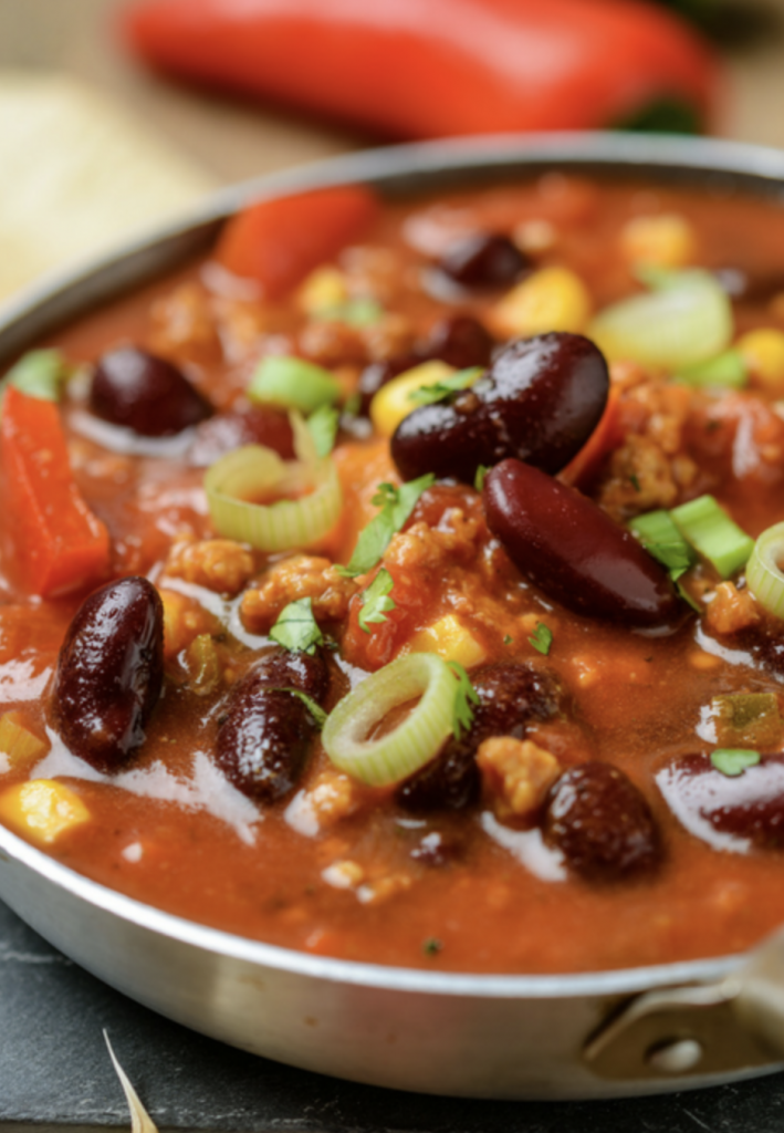 no meat veggie chili