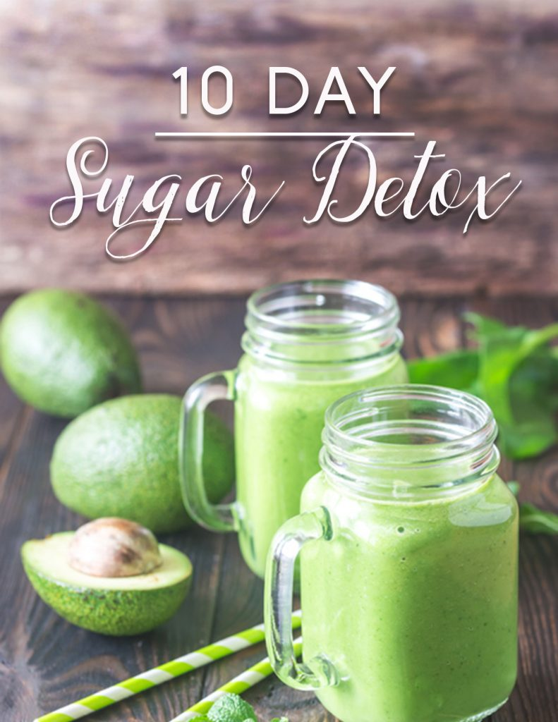 10 day sugar detox cover