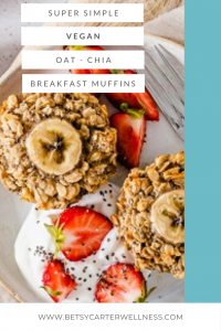 picture of oat muffins with strawberries on pinterest