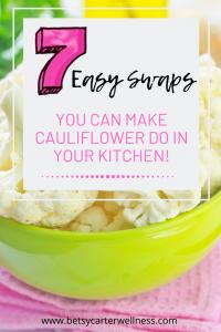bowl of cauliflower
