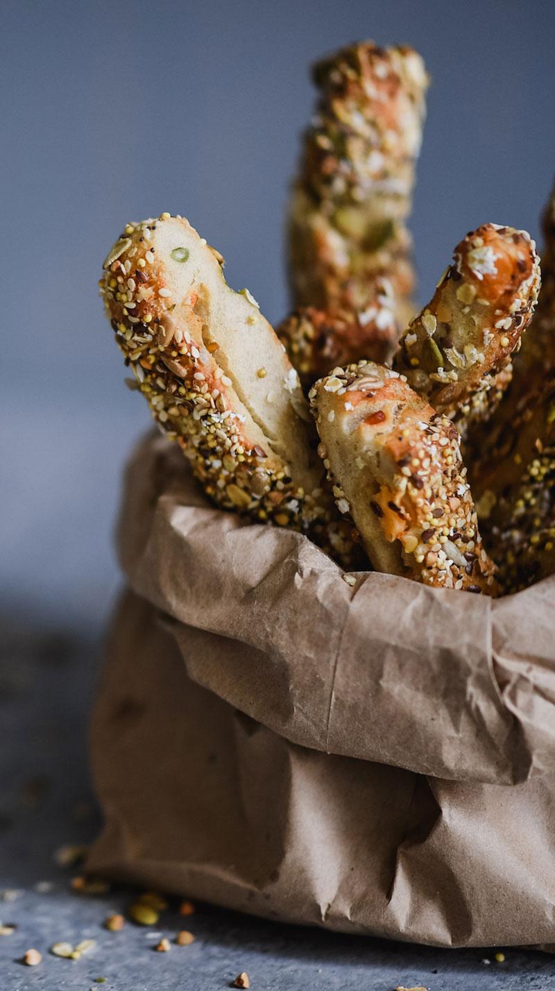 bag of breadsticks